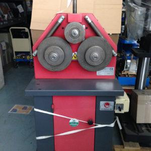 Curvatrice meccanica usata a 3 rulli EURING EUR 60 - Vendita di curvatrici e piegatubi usati, curvatrice usata euring