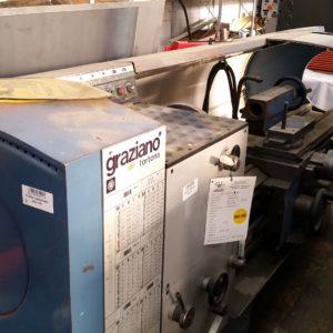 Tornio usato GRAZIANO SAG210X1500 - Vendita tornio usato a Brescia e Bergamo. Tornio usato GRAZIOLI Brescia