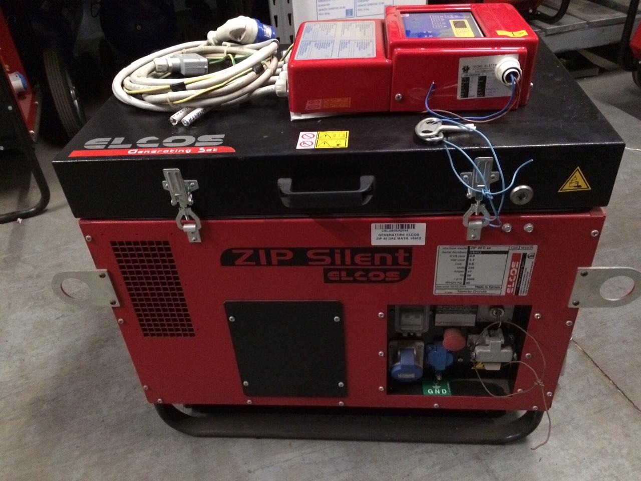 Gruppo elettrogeno usato elco zip40 d usato cbl utensileria for Generatore di corrente diesel usato
