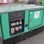 GRUPPO ELETTROGENO GREEN POWER MOD. GP 40 S-P USATO -3