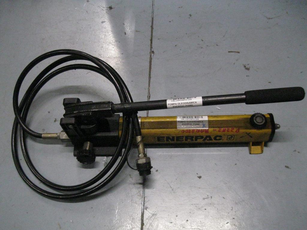 Pompa oleodinamica enerpac p bar usata usato cbl
