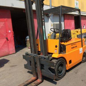 MULETTO ELETTRICO STILL R60-40 USATO FRONTALE - Muletti usati Diesel,Benzina ed Elettrici a Bergamo e Brescia
