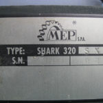 SEGATRICE A NASTRO MEP SHARK 320 SX USATA -2