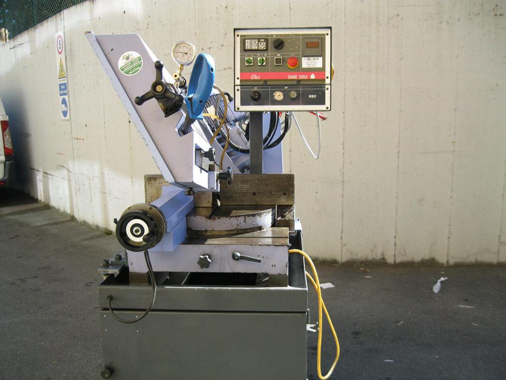 Segatrice a nastro mep shark sx usata usato cbl utensileria
