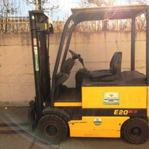 MULETTO FRONTALE ELETTRICO OM E20AC USATO - Muletti usati Diesel,Benzina ed Elettrici a Bergamo e Brescia