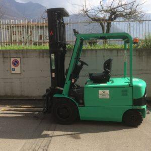 MULETTO FRONTALE ELETTRICO MITSUBISHI MOD. FB35K USATO (Copia) - Muletti usati Diesel,Benzina ed Elettrici a Bergamo e Brescia
