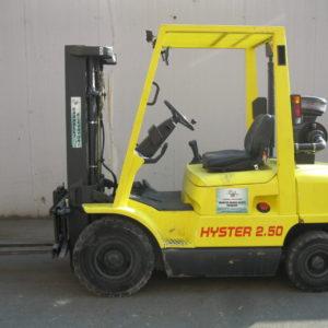 MULETTO USATO FRONTALE DIESEL HYSTER MOD. H 2.5 XM - Vendita muletti usati,vendita e noleggio muletto usato elettrico e benzina
