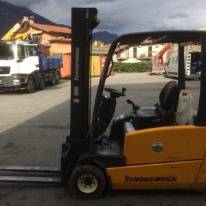 MULETTO ELETTRICO JUNGHEINRICH MOD. EFG 218 USATO (Copia) - Muletti usati Diesel,Benzina ed Elettrici a Bergamo e Brescia
