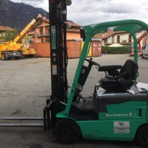 MULETTO ELETTRICO MITSUBISHI FB18N USATO (Copia) - Muletti usati Diesel,Benzina ed Elettrici a Bergamo e Brescia