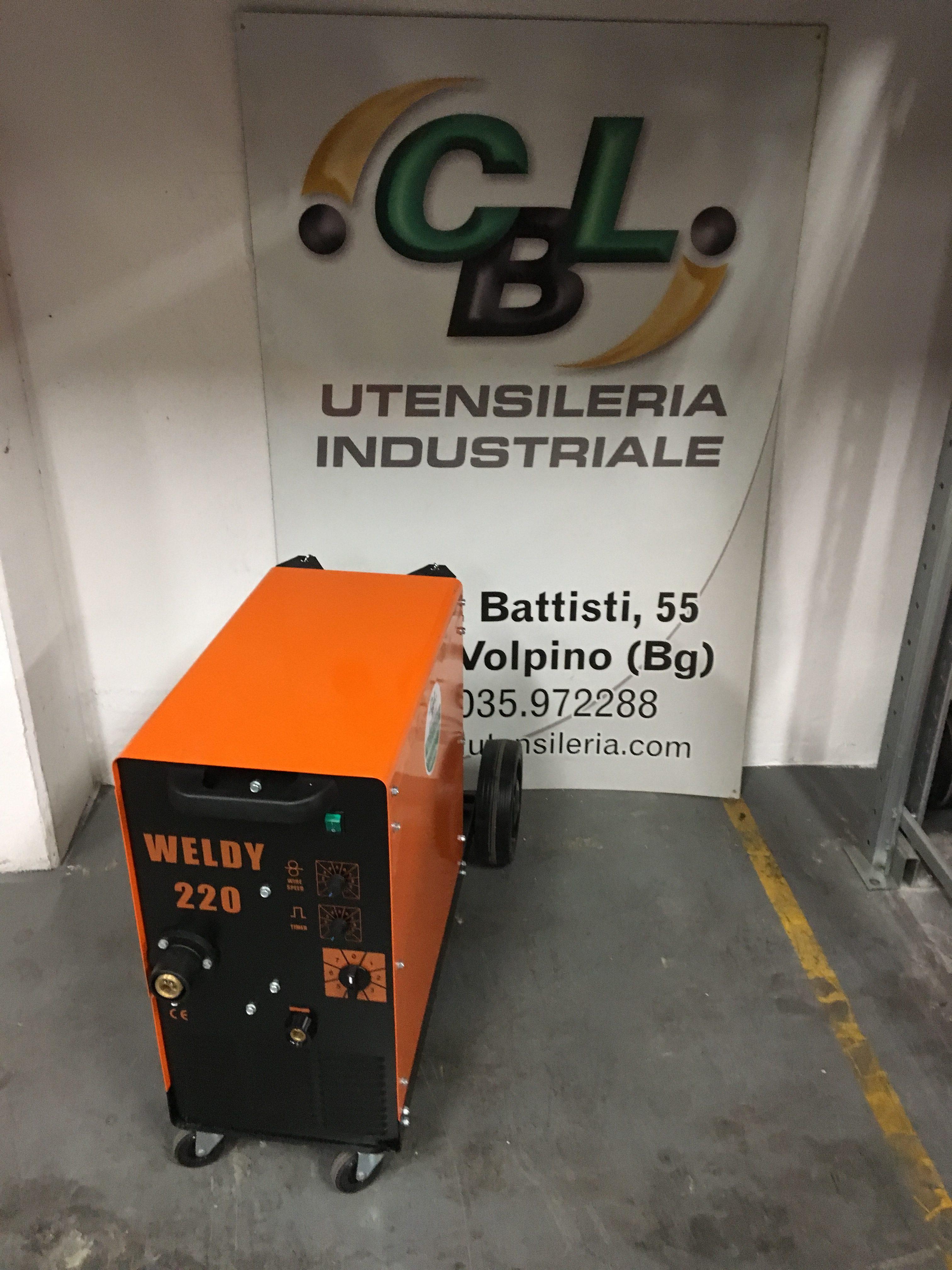 Saldatrice a filo compatta protec weldy 220 380v nuova - Frese per piastrelle ...