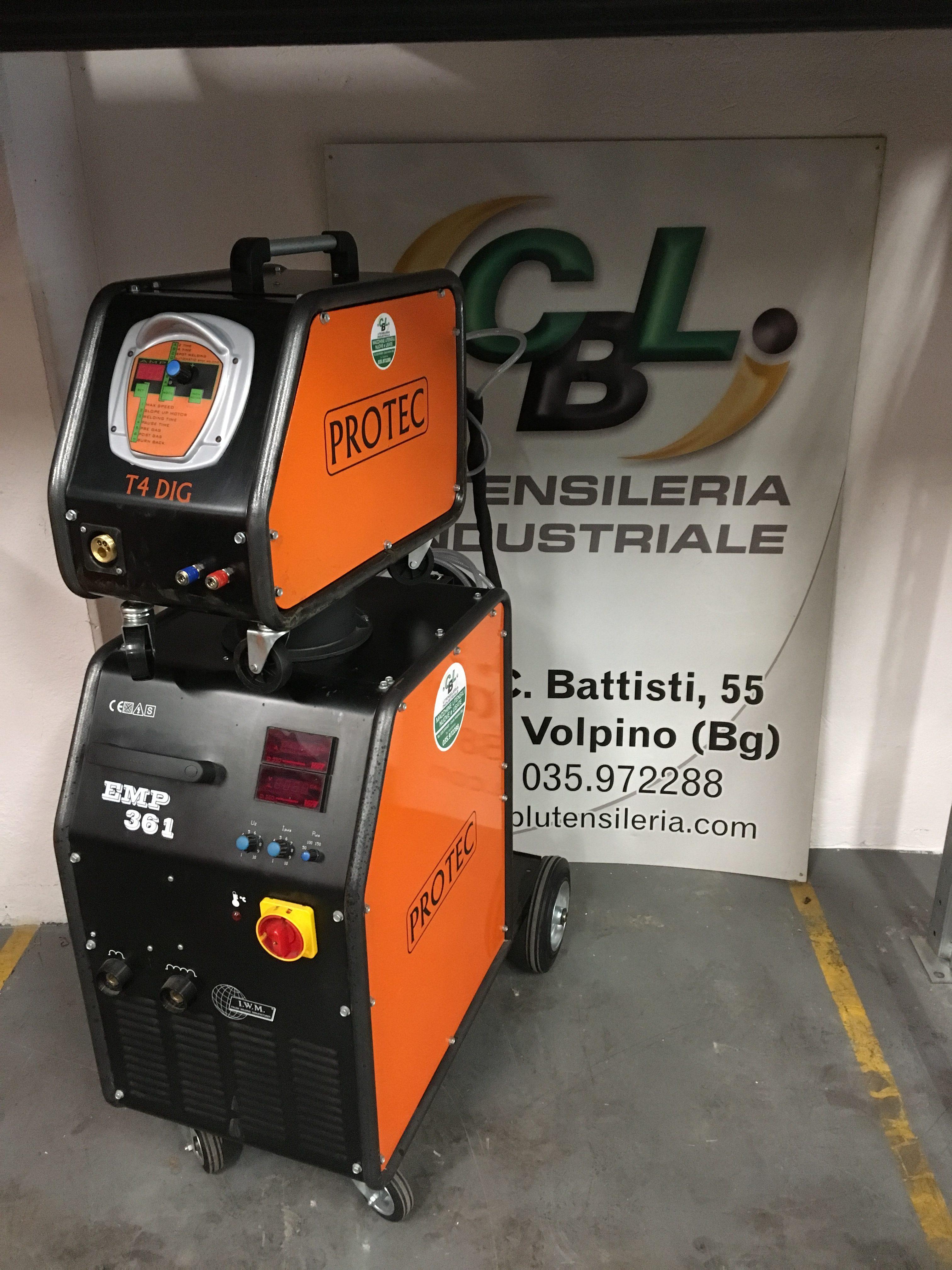Saldatrice a filo protec emp 361 380v nuova usato cbl - Frese per piastrelle ...