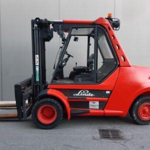 MULETTO USATO FRONTALE DIESEL LINDE MOD H80/900 (Copia) - Muletti usati Diesel,Benzina ed Elettrici a Bergamo e Brescia