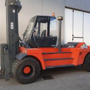 MULETTO USATO DIESEL LINDE MOD H160 (Copia) - Muletti usati Diesel,Benzina ed Elettrici a Bergamo e Brescia