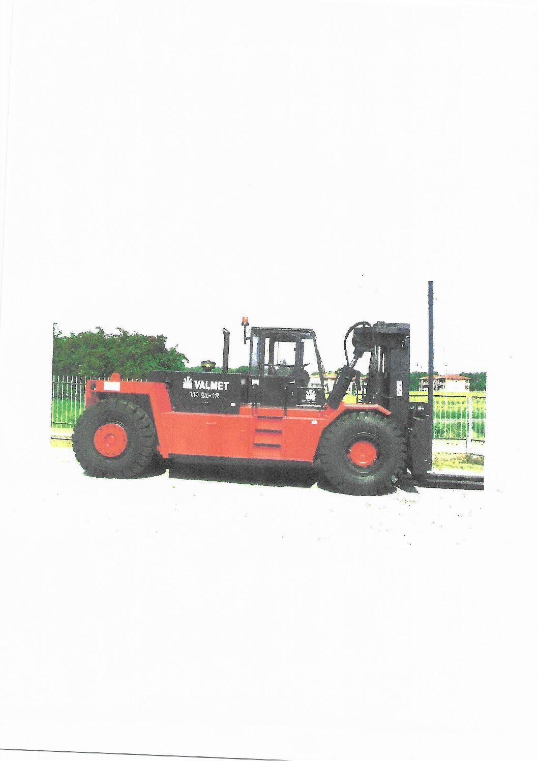 MULETTO USATO DIESEL VALMET TD 2812 RO-RO - Vendita muletti usati,vendita e noleggio muletto usato elettrico e benzina